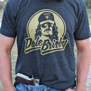 DALE BRISBY Rock N' Roll Cowboy Muscle Tee